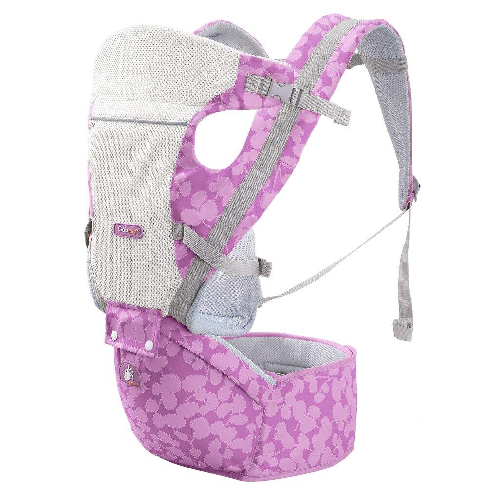 Porte-bébé multifonctionnel respirant porte-enfant sac à dos enfant porte-bébé Wrap bretelles bretelles