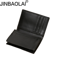 JINBAOLAI Men S Business Card Holder Large Capacity Wallet For Men Ultra Thin Purse With Credit