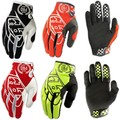 Hot New Full Finger KTM Motorcycle Gloves Motocross Luvas Guantes Green Orange Moto Protective TLD Glove For Men Free Shipping