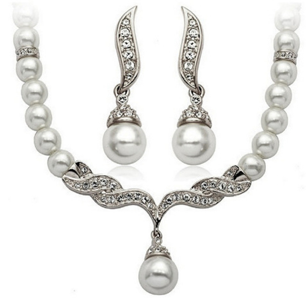 grey imitation bracelet and cream crystal light stones glass with rhodium peach pearls