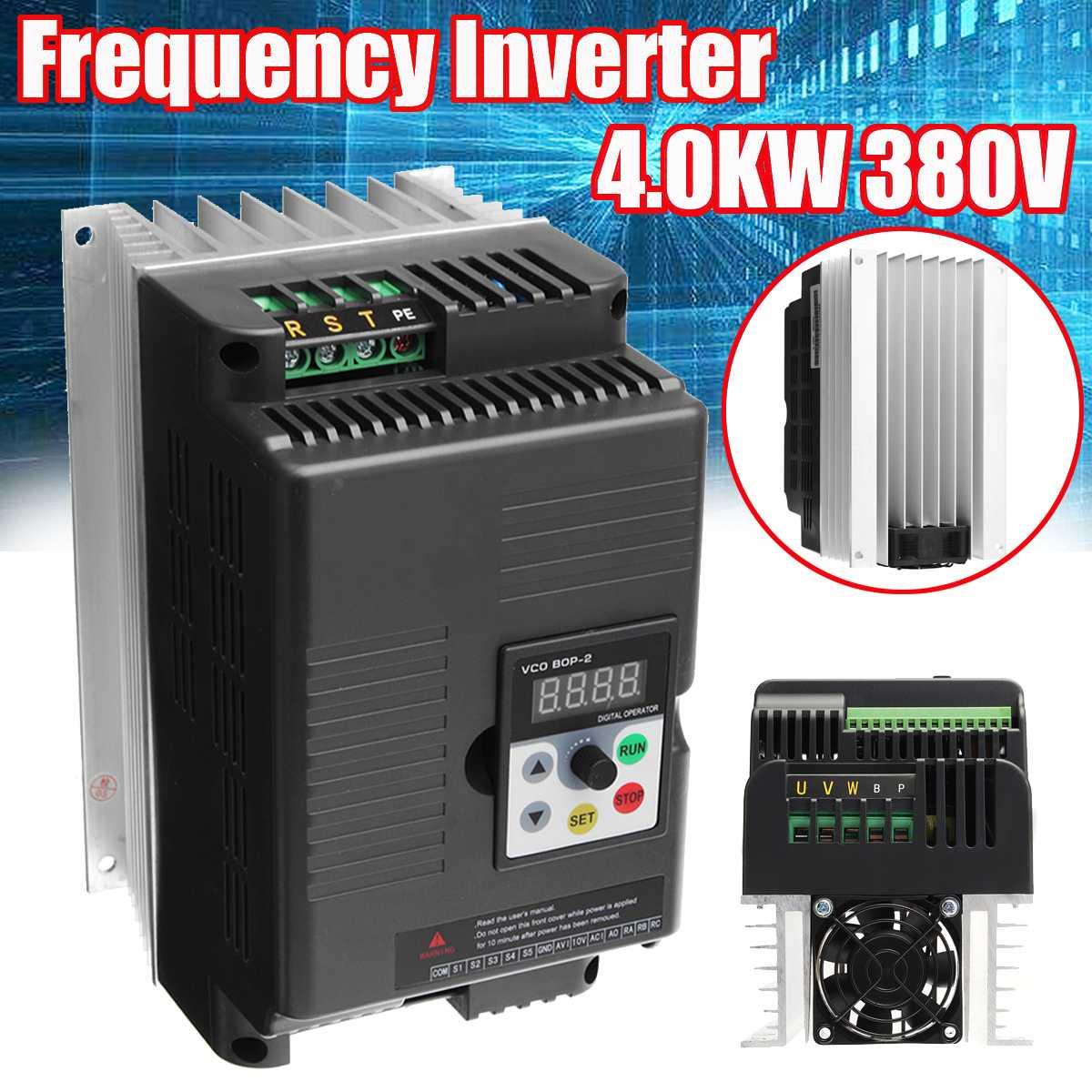 1 PC 4KW 380 V 3 phases de sortie variateur de fréquence convertisseur de moteur VFD
