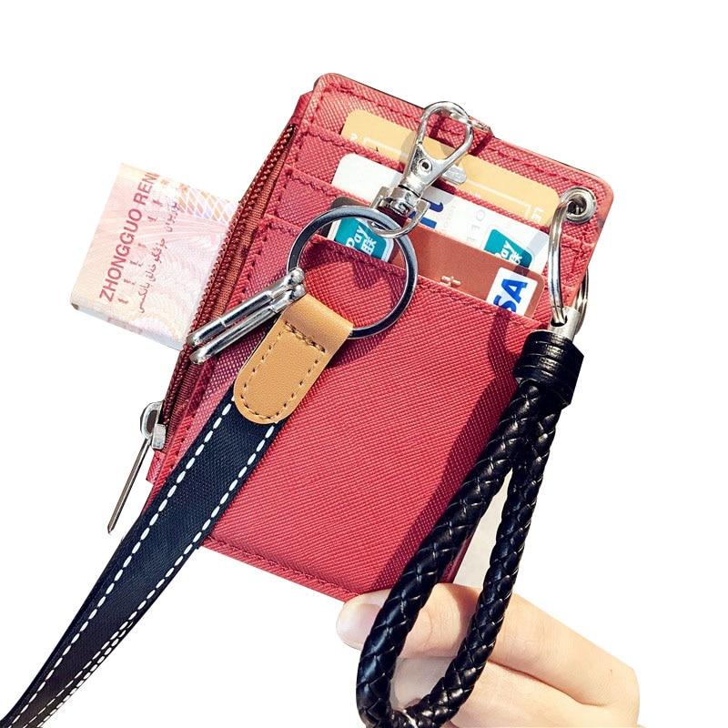 Bank ID Business Credit Card Holder Auto Car Document Men Women Cover Case Wallet Female Male Bag Purse Porte Carte Cardholder 1