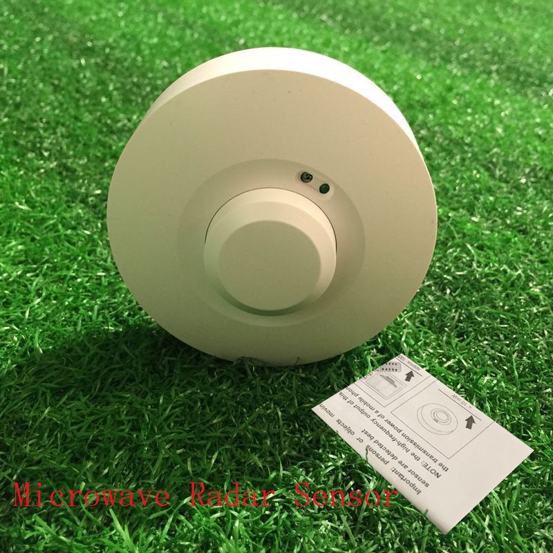 360 Degree Radar Sensor Light Switch 110V 5.8GHz HF Systerm LED Microwave Ceiling light Occupancy Body Motion Detector  цены