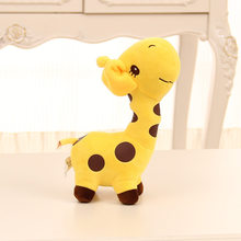 Hot Merry Christmas Gif Color Deer Doll Large Giraffe Plush Toy Wholesale Doll Love Spirited Away Teddy Bear Beagle Cat(China)