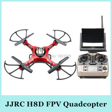 Free Shipping H8D/H8C 2.4Ghz Headless helicopter 5.8G FPV RC Quadcopter Drone with 2MP Camera FPV Monitor LCD Display VS X5C X8C