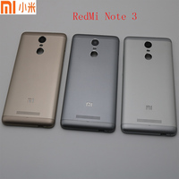 Original For Xiaomi Redmi Note 3 Metal Battery Back Rear Cover Door Housing Cover Case With