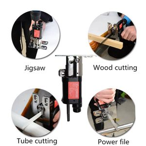 Image 5 - Reciprocating Saw Attachment Change Electric Drill Into Reciprocating Saw Jig Saw Metal File For Wood Metal Cutting