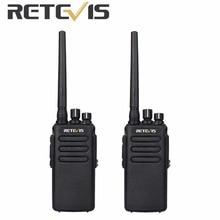 2pcs Walkie Talkie DMR Retevis RT81 Digital/Analog IP67 Waterproof 10W 32CH UHF400-470Mhz VOX Encryption Ham Radio Amador A9119A