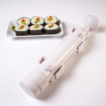 5pcs Sushi Maker Roller Roll Mold Bazooka Rice Meat Vegetables Making Machine Kitchen Tools sushi bazooka