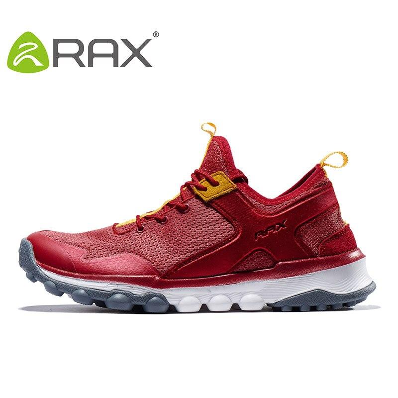 RAX Nueva Llegada Amortiguación Corrientes de Los Hombres Zapatos de Malla Trans