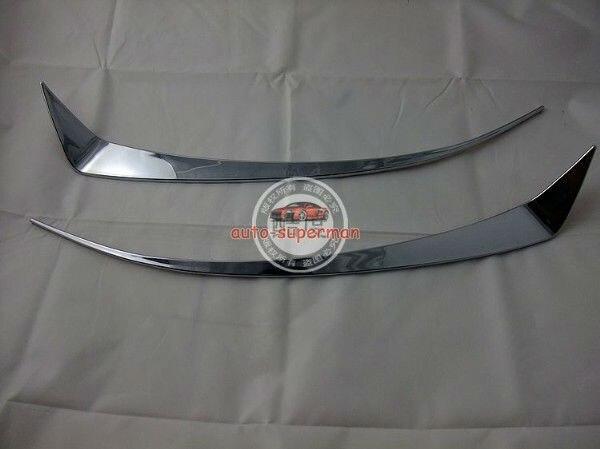Garniture de paupière légère en Chrome pour Acura TSX 2009-2012