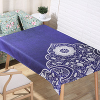 Hot Sale American Pastoral Picnic Rectangle Table Cloth Home Hotel Restaurant Table Cloth