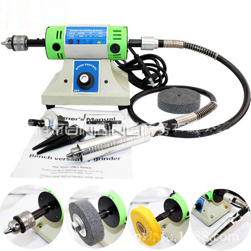 Electric Polishing & Engraving Machine DIY Manual Table Grinder Multi-function Woodworking Engraving Tool H999Electric Polishing & Engraving Machine DIY Manual Table Grinder Multi-function Woodworking Engraving Tool H999