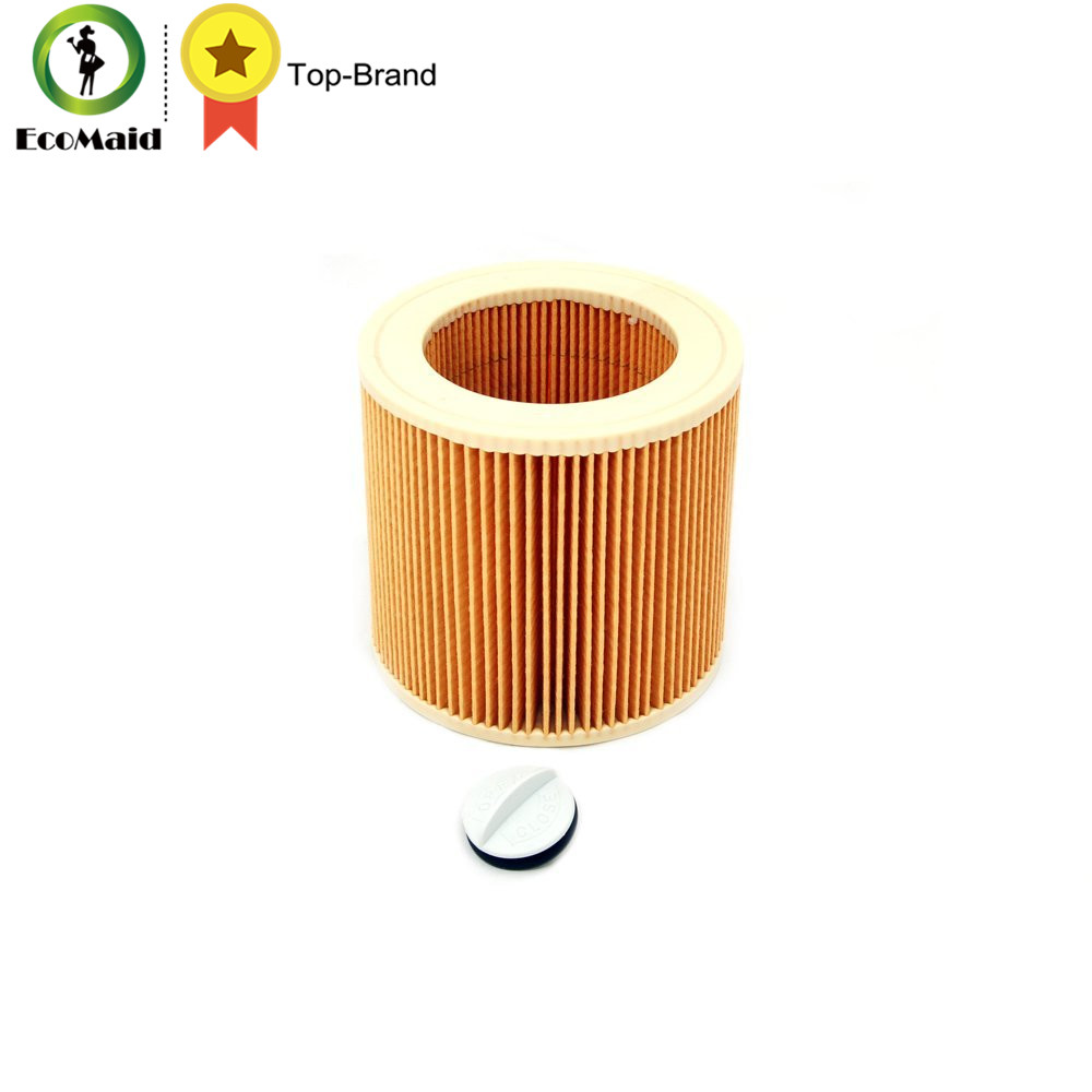 Filter for Karcher Vacuum Cleaner A/WD Series Karcher Cartridge Filter for A2004 WD2.250 Vacuum Cleaner Accessory Spare Part replacement filter for karcher a wd series vacuum cleaner cartridge filter for a2004 wd2 250 vacuum cleaner acc spare part 2pcs