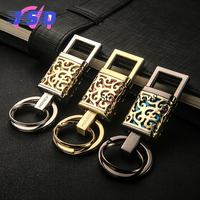 Upscale Keychain Car Key Ring Pendant Keyring Business Luxury Gift For Mercedes BENZ BMW Audi Ford