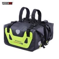 WOSAWE Waterproof Double Sides Motorcycle Bag Racing Race Moto Helmet Travel Bags Motorcycle Saddle Bags For KTM PIAGGIO Motor