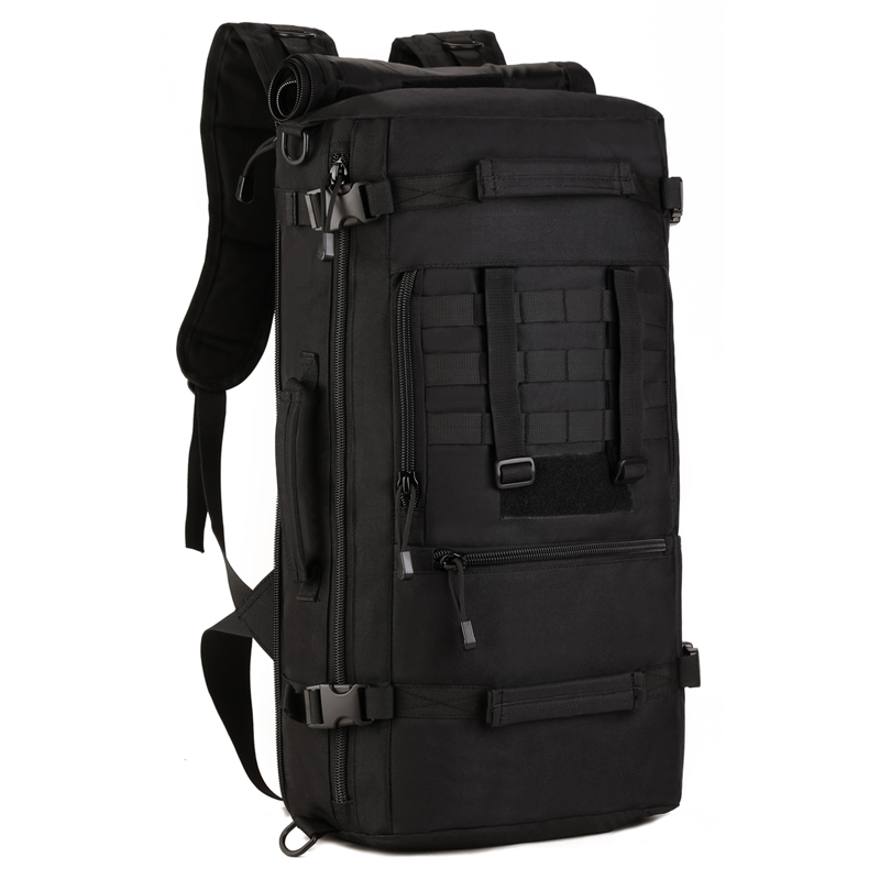 0bd1255469 2018 Hot Top Quality 50L New Military Tactical Backpack Camping Bags  Mountaineering bag Men s Hiking Rucksack