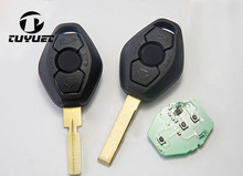 Remote key With ID44 Chip For BMW EWS E38.E39 315mhz /433.92mhz (with words on the back )