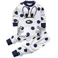 Baby girl boy ropa infantil de la ropa para los recién nacidos niños de los niños pijamas set pijamas para bebé dormir set de ropa 1 2 años
