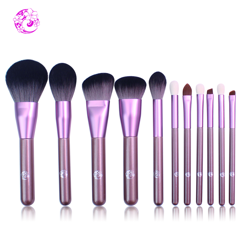 цена на ENERGY Brand Professional 11pcs Makeup Brush Set Make Up Brushes Brochas Maquillaje Pinceaux Maquillage zw0