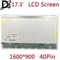 KEFU Right interface!! N173FGE L23 LP173WD1 TLA1 B173RW01 V.3 LTN173KT01 LTN173KT02 For 17.3 LCD Screen Laptop 1600*900 40pin