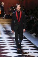 2018 последние конструкции пальто брюки черный мужской костюм красный платок с лацканами костюм для свадьбы для мужчин вечеринка выпускного