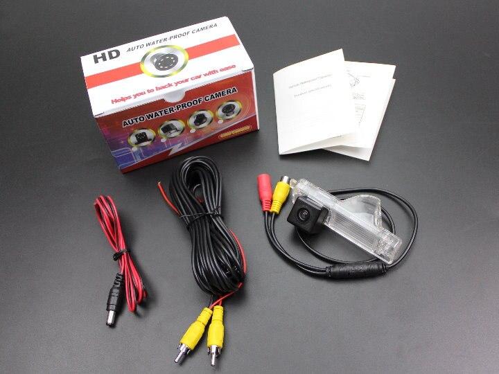 Liislee камера заднего вида/резервная парковочная камера для Toyota Highlander/Kluger XU40 MK2/светильник для номерного знака OEM/ночное видение