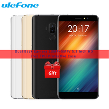 "Ulefone S8 Smartphone Android 7.0 MT6580 Quad Core 1.3 GHz 1G RAM 8G ROM 5.3 ""HD IPS Double Lentille Arrière 13.0MP 3000 mAh D'empreintes Digitales"