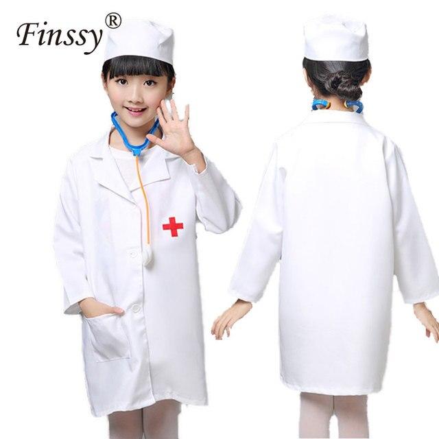 Nurse Cosplay Costume for Girls Doctor Costume Nurse Uniform Clothing Halloween Costume for Girls Kids Party  sc 1 st  AliExpress.com & Nurse Cosplay Costume for Girls Doctor Costume Nurse Uniform ...