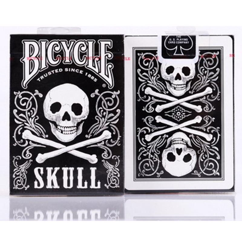 Bicycle Skull Playing Cards Original Poker Cards for Magician Collection Card Game наклейки three comrades 2015