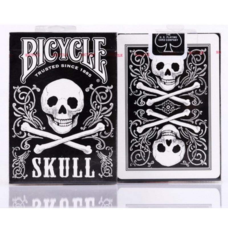Crâne de vélos Cartes À Jouer de Poker Original Cartes pour Magicien Collection Jeu De Cartes