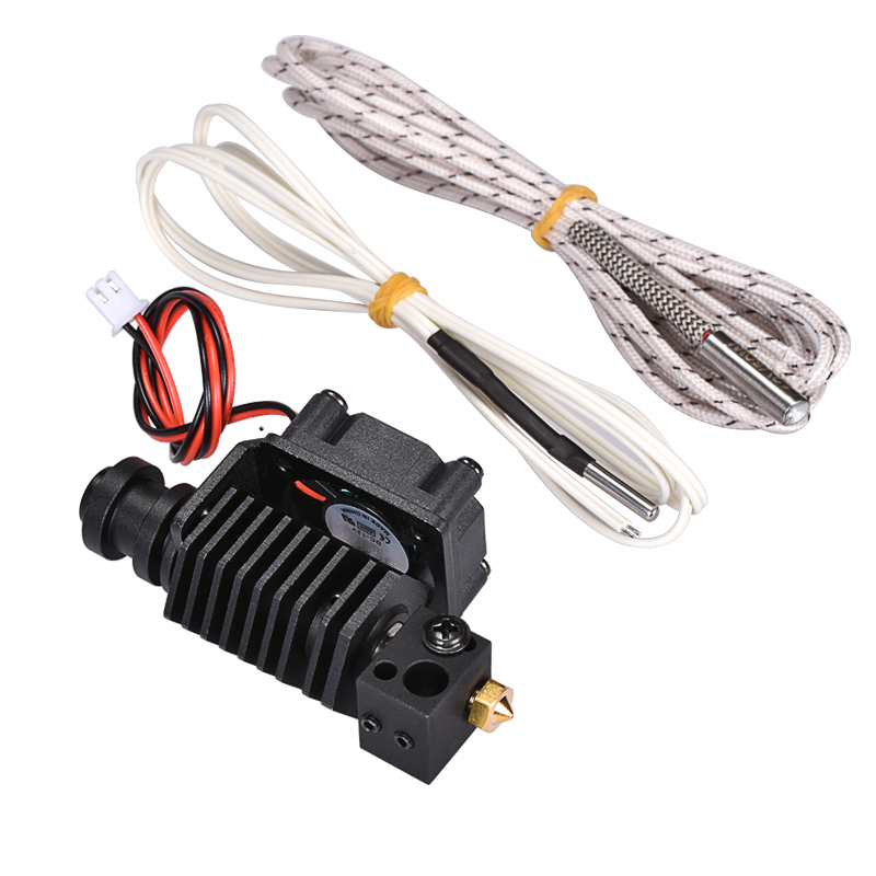 Upgrade 3D V6 Bowden Extruder Hexagon Hotend Kit For 1.75/0.4mm Filament With Heater HT-NTC100K Thermistor For 3D Printer Parts bowden steve newbury kate upgrade [b1] sb ebook