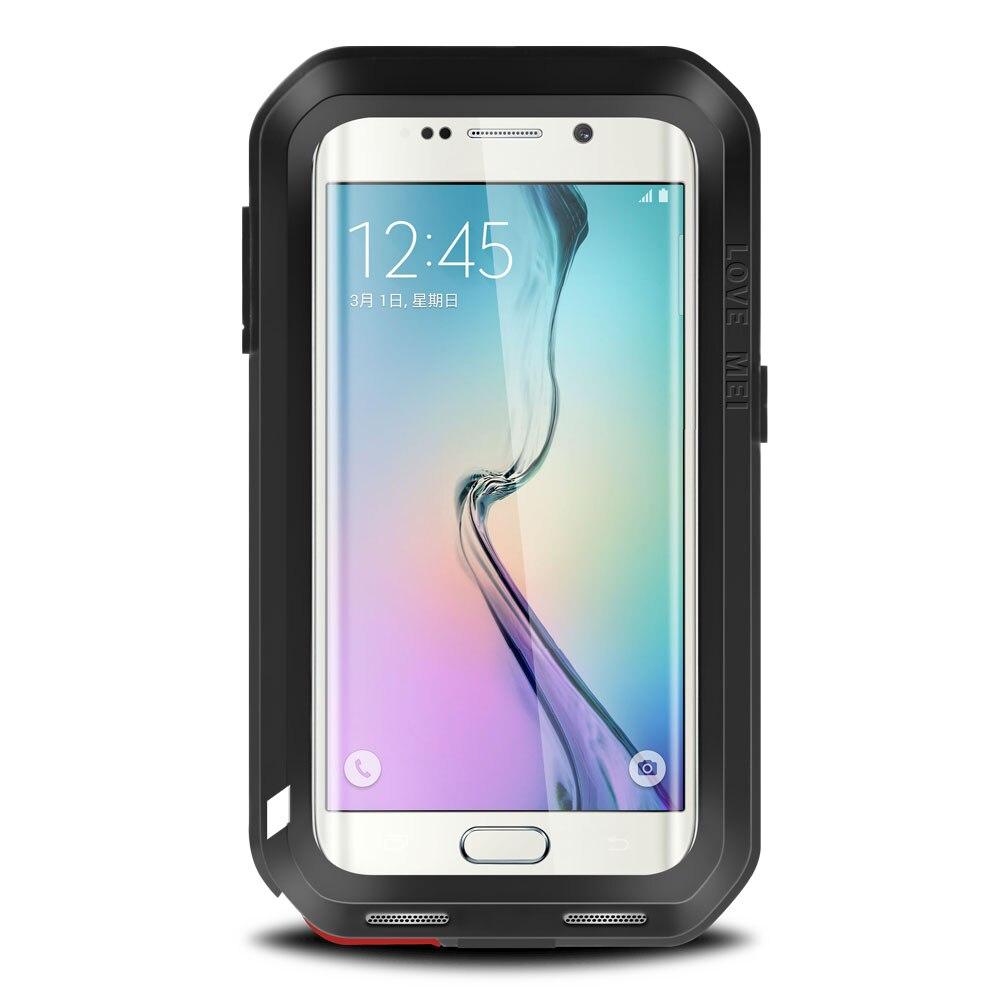 Étui de protection hybride blindé étui étanche Fundas boîtier étanche à l'eau/saleté/choc/pluie pour Samsung Galaxy s6 S6 edge Plus