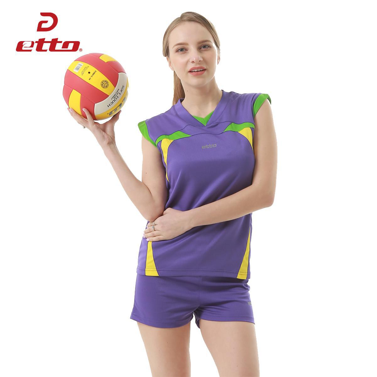Detail Feedback Questions about Etto Professional Volleyball Jerseys Women  Sports Suit For Volleyball Team Training Sleeveless Top   Shorts Set  Uniforms ... 3f80b29bbaa53
