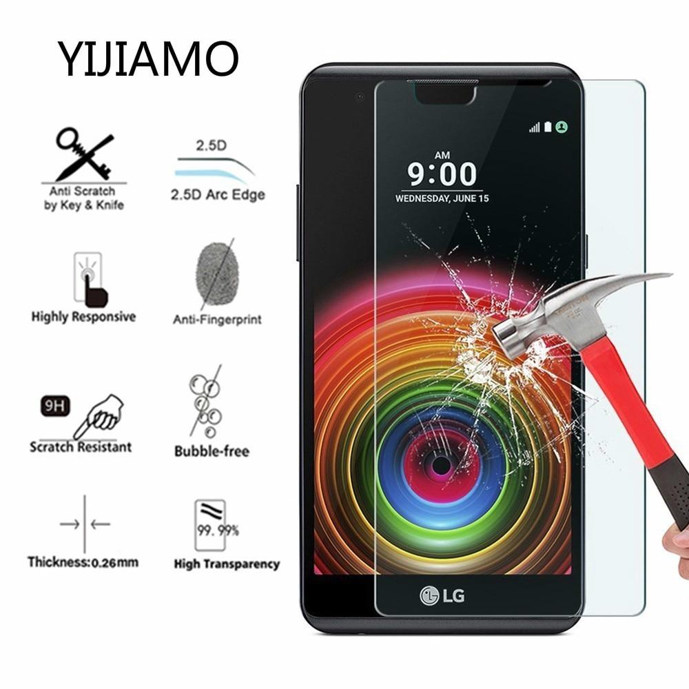 Vidrio de protección para teléfono móvil para LG X Power 2 3 vidrio templado en la pantalla para LG xpower 2 3 funda protectora de vidrio 9 h
