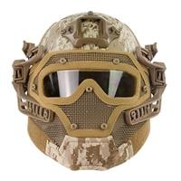 Surwish стальная проволока защитный Быстрый Шлем Костюм для страйкбола/для Nerf Games Outdoor Activity AT