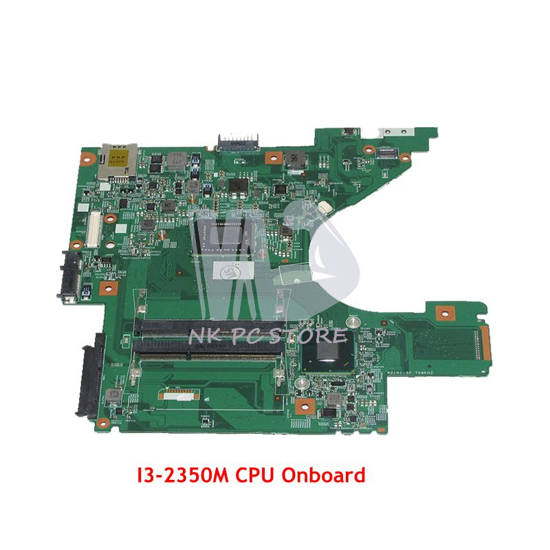 NOKOTION For Dell Vostro V131 Laptop Motherboard 13.3 inch SR0DQ i3-2350M CPU DDR3 CN-07CH48 07CH48 7CH48 48.4ND01.011 цена