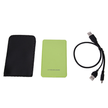 USB 2,0 2,5 дюймов IDE HD жесткий диск HDD внешний карман коробка до 500 Гб для Mac OS ноутбук ПК Прямая доставка