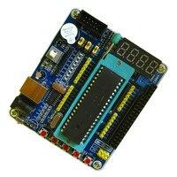 51 mikrodenetleyici öğrenme kartı STC89C52 öğrenme kartı geliştirme kurulu sistem kartı self-made akıllı araba