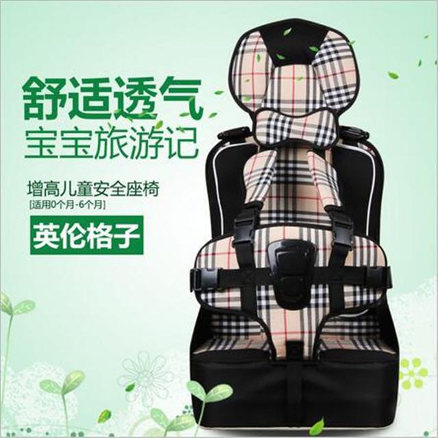 Safety Seat Top quality 5-point harness safety car covers for baby children's baby car seat Safety portable blue orange