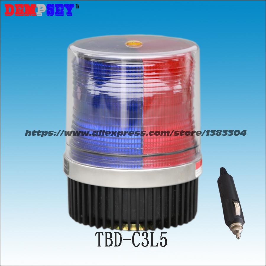 Dempsey Police strobe light LED strobe lights Emergency Warning light for truck led strobe beacon with magnet RED BLUE(TBD-C3L5) dempsey police strobe light led strobe lights emergency warning light for truck led strobe beacon with magnet red blue tbd c3l5