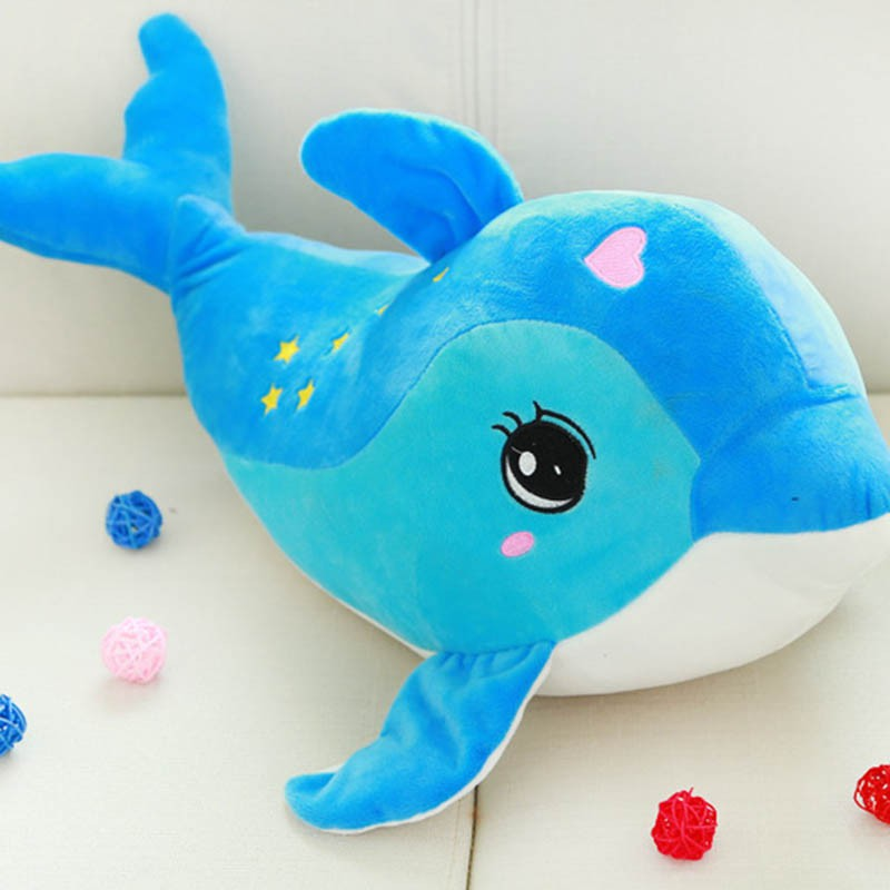 30CM High-quality Kawii Dog Dolphins Pillow Doll Plush Toys Dolphins Doll For Kids Boys Girls Birthday Christmas Gift