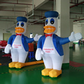 Free Shipping  air blower included 2m  duck  inflatable cartoon for advertising