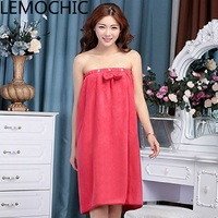 Wear The Towel Wrapped Chest Bath Skirt Bathrobe Towel Thickened Water Sucking High Quality Limit Send