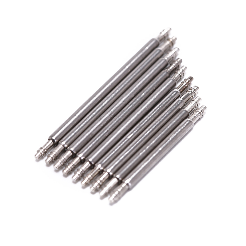 16-24MM Stainless Steel Watch Band Spring Bars Strap Link Pins Watchmaker 20 PCS Watch Repair Set