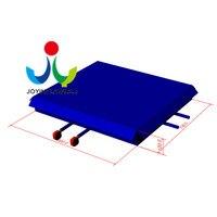 9X7,3 м надувные трюк Air сумка с огнестойкими, надувные прыжки подушку, батут Развлечений Парк приключений с надувной коврик