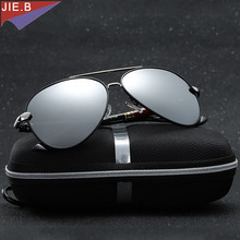 New Hot High Quality brand designer Polarized Sun Glasses Driving Sport Male Fashion Oculos men sunglasses with Box