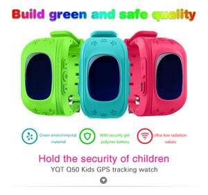 Image 2 - Q50 لتحديد المواقع ساعة تعقب الاطفال ساعة ذكية SOS دعوة مكافحة خسر سوار معصمه الأطفال يمكن ارتداؤها الأجهزة OLED لتحديد المواقع المقتفي