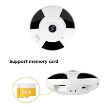 V380 WIFI Wireless Camera 360 Degree 960P HD IP Fisheye Panoramic Camera Home Security Indoor CCTV Video Camera SD Support 64G