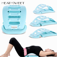 Healthsweet Back Massager Stretcher Support Cervical Spine Stretch Relax Pain Relief Fitness Back Straight Equipment Massageador